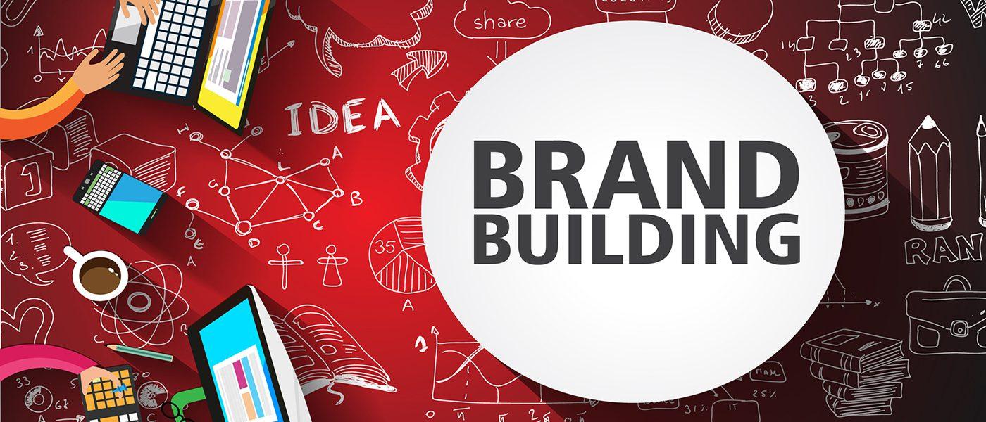 Brand Building concept illustration
