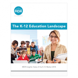 The K-12 Education Landscape report cover thumbnail