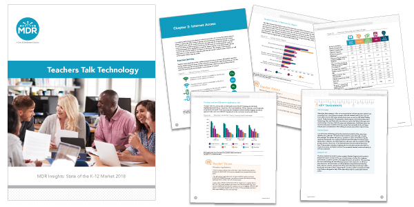 Teacher Talk Technology 2018 report sample pages
