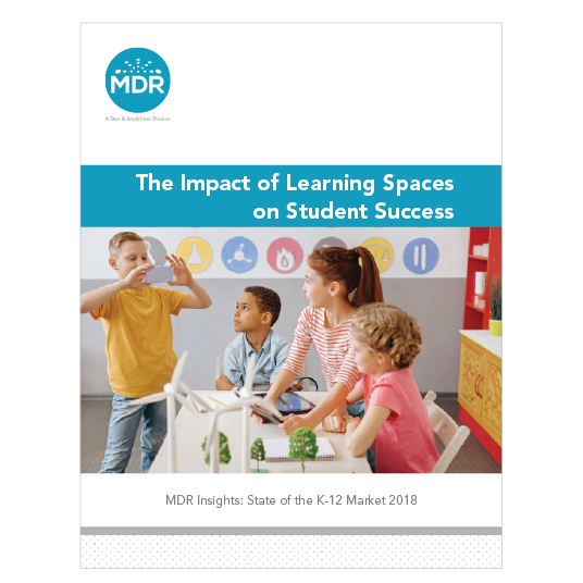 The Impact of Learning Spaces on Student Success report cover thumbnail