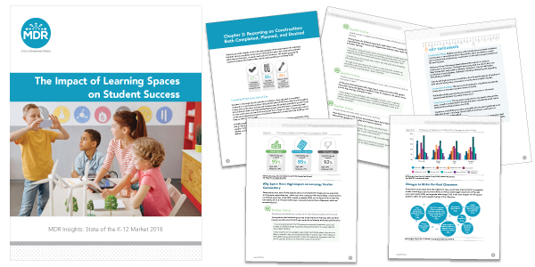 The Impact of Learning Spaces on Student Success report sample pages