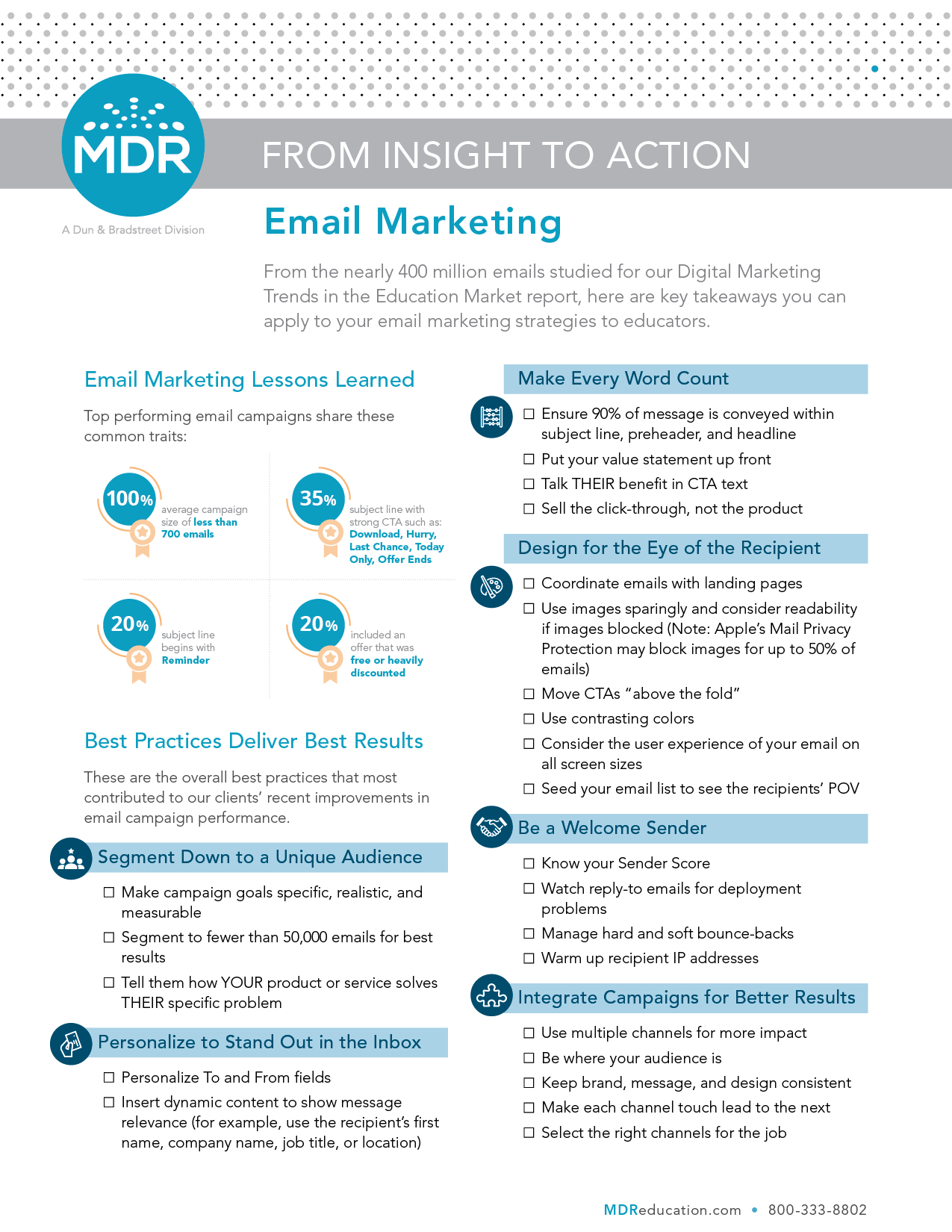 Email Best Practices checklist thumbnail
