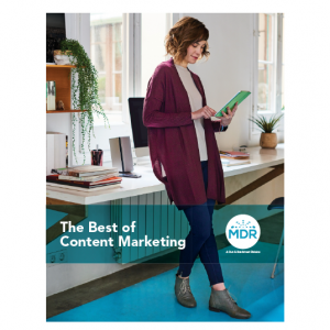 Best of Content Marketing report cover