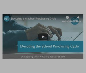 Decoding the School Purchasing Cycle Webinar thumbnail