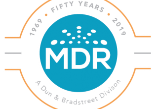 mdr 50th anniversary logo