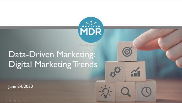 Data-Driven Marketing: Digital Marketing Trends Webinar