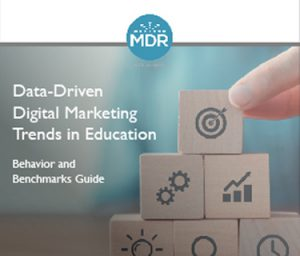 Data-Driven Digital Marketing Trends in Education webinar thumbnail