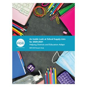 An Inside Look at School Supply Lists for 2020-2021 report cover