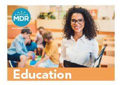 MDR Education Catalog cover thumbnail